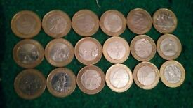 Collectible 2 Pound Coins