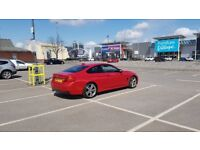 BMW 4 series F32 RED 425D M SPORT LOW MILEAGE IMMACULATE CONDITION