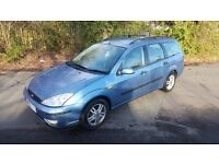 Ford Focus Estate Blue 2003 Automatic
