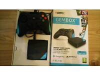 Android box with Bluetooth controller. £30