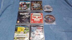PlayStation 3 Games Joblot x8