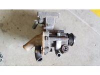Water pump power steering pump