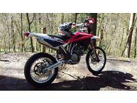 HUSQVARNA TE250 MOTORCROSS/ENDURO 2008/08 REG P/X 2 STROKE OR BIGGER 4 STROKE ENDURO BIKE UPTO £1500