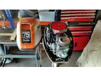 2 honda 7.5 hp outboard motors