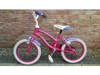 Girls bicycle 16 inch bike - in good order