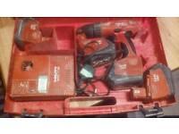 Hilti cordless spares repairs