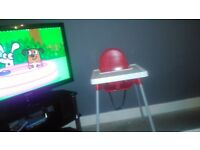 High chair in really good condition