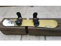 """""""A"""" Snowboard (ex-Rossignol Brand) and UNION bindings for RENT"""