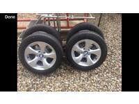 16 '' Bmw wheels and tyres fits vans