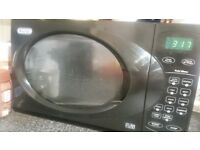 Delonghi black microwave