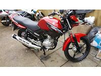 2016 - Yamaha YBR-125 (Kernow Motorcycles & Scooters)