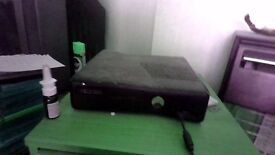 xbox360 with 22 games in good condtion