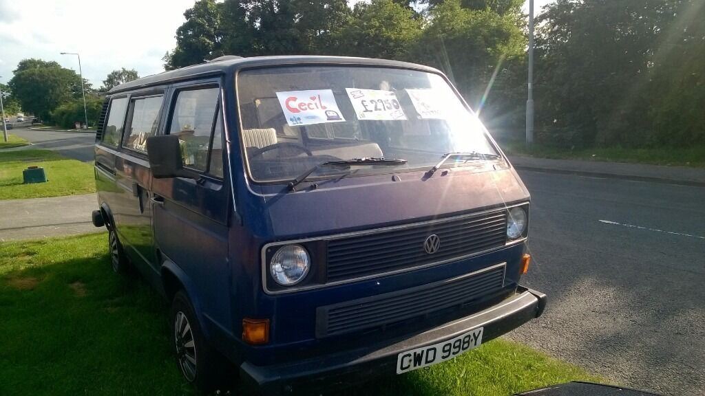 99d18bf49d Cecil For Sale. 1983 VW Campervan with Rock and Roll Bed. Current MOT until  October. Work history.