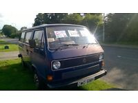 Cecil For Sale. 1983 VW Campervan with Rock and Roll Bed. Current MOT until October. Work history.