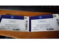 2 x Nickelback Tickets @ O2 THIS THURSDAY 20th October