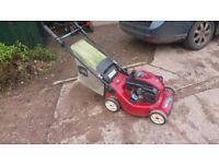 toro, recycler, petrol lawn mower