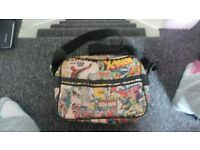 Mens Retro MARVEL Messenger Bag