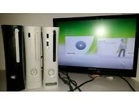 Xbox 360 hdmi joblot old dashboards