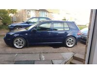 Volksawgon vw golf mk4 gt tdi spares or easy repair