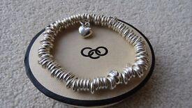 NEW Genuine LINKS of LONDON Sweetie Sterling Silver Charm Bracelet