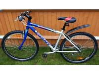 "GIANT aluminium 17"" framed mountain bike. Just serviced."