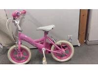 Princess bike in pink