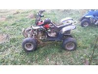 quad spares or repairs