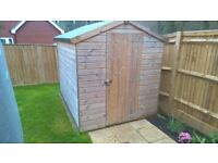 The Reigate Security Shed by ace sheds 4x6