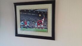 Wayne Rooney over head kick against Manchester City.
