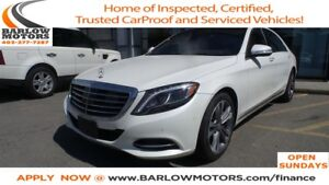 2015 Mercedes-Benz S-Class S550 4MATIC LWB ** WINTER SPECIAL **