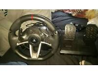 Ps4, ps4 n and ps3 driving wheel