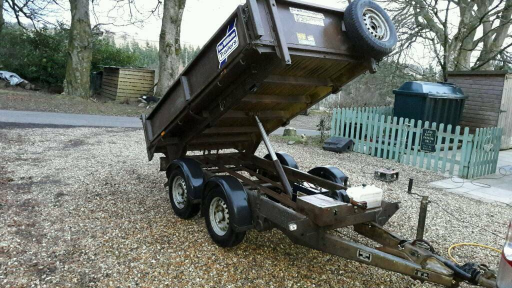 Ifor Williams tipping trailer 8x5 2013