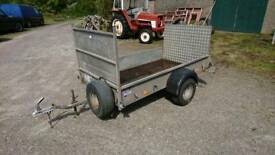 Ifor Williams p7e with ramp 750kg trailer livestock quad mower