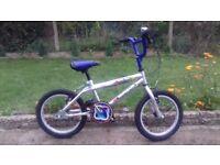 KIDS CHILDREN GIRLS RENEGADE FALCON 16'' WHEEL BLUE BIKE BICYCLE