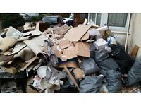 24/7 MAN & VAN HIRE JUNK WASTE RUBBISH REMOVALS HOUSE OFFICE CLEARANCE DUMPING