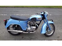 1958 anniversary model triumph 3ta twenty one