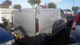 Vauxhall Vivaro 2700 Van For Breaking/Spares