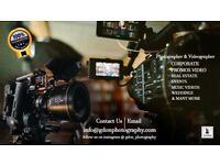 £50/hr Photographer | Videographer | Event |Corporate |Promo|Music Video|Weddings |Property |#London