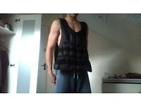 Vest Weight 25 kg (removable) for 15 pounds