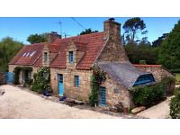 Charming renovated farmhouse close to golf and sea on the Côte de Granit Rose in Bretagne (France)