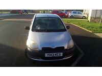 Toyota Yaris for sale. Spare or repair