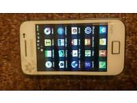 Samsung Galaxy Ace La Fleur GT-S5830 - Ceramic White (Unlocked) Smartphone