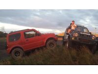 Suzuki jimny mud plugger wheels and tyres