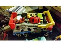 Toy car bundled