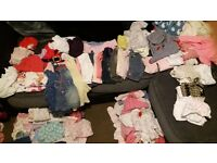 3-6month baby girls clothes bundle