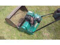 Suffolk punch petrol lawnmower