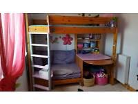 Stompa High Sleeper /bunk/kids bed