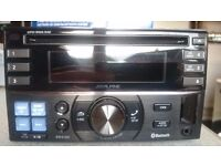 Alpine Double DIN CDE-W235BT - Bluetooth