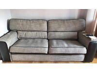 Sofa - black/grey