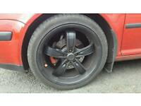 18in 5 stud wheels vw audi